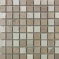 Athen Grey-Marble Mosaic