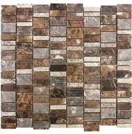 Dark Emperador-Marble Mosaic