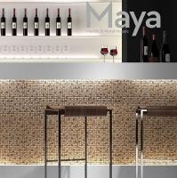 Maya-Marble & Metal Mosaic