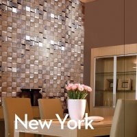 New York-Stainless Steel Mosaic