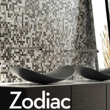 Zodiac-Glass Mosaic